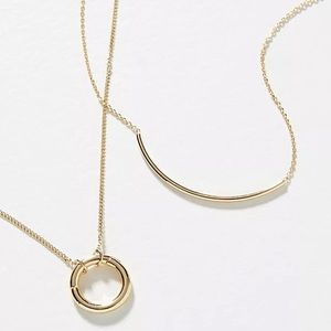 Anthropologie Build-A-Necklace Bar Chain - (NWT)